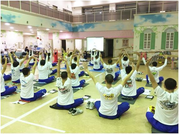 「日本体育協会公認スポーツドクター、ヨガインストラクターによるスポーツ障害予防教室」を開催しました