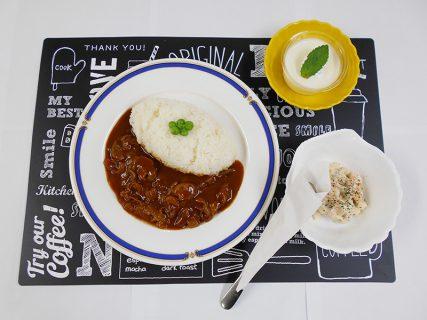 昭和の日に料理長おすすめ料理を提供しました