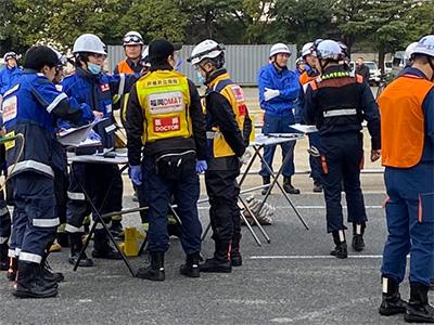 1/17に令和元年度集団救急救助訓練が開催されました