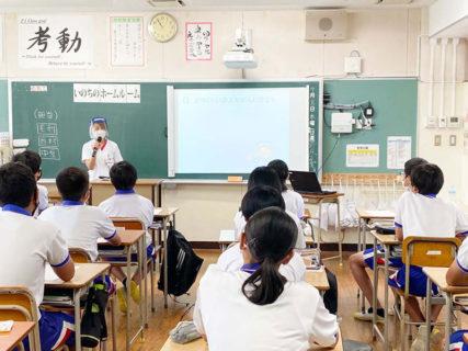 7月8日「いのちのホームルーム」で行橋市立中京中学校へ!