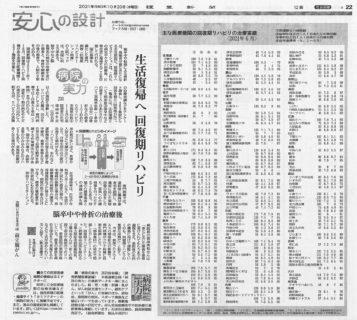 読売新聞10月20日に当院が掲載されました!
